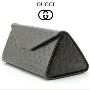 NEW GUCCI glasses case, cloth, auth card, dustbag